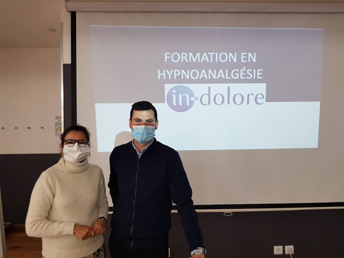 Nathalie VIEIRA, Infirmière en Réanimation, Chargée de Formation en Hypnoanalgésie à l'Institut In-Dolore et AP-HP